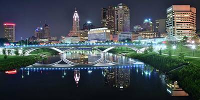 Photograph - Best Columbus Pano 2017 by Frozen in Time Fine Art Photography