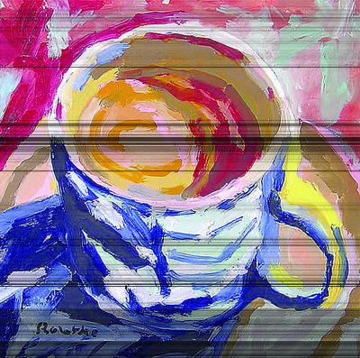 Painting - Best Cup Of Joe by Nancy Rourke