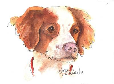 Painting - Best Dog By Kathleen Mcelwaine by Kathleen McElwaine