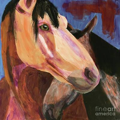 Painting - Best Friend by Donald J Ryker III