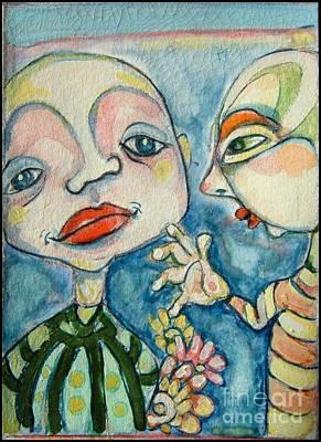 Painting - Best Friends 1 by Michelle Spiziri