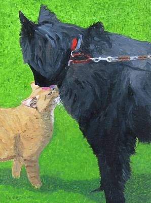 Painting - Best Friends by Barb Pennypacker
