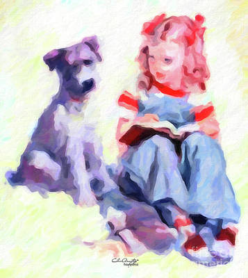 Painting - Best Friends by Chris Armytage