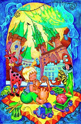 Best Friends Original by Inga Konstantinidou