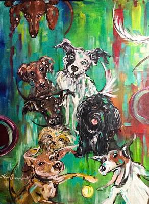 Painting - Best Friends by Lisa Owen-Lynch