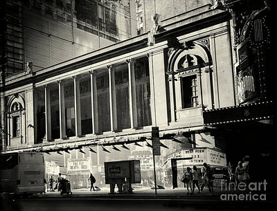 Photograph - Best In Town - A Bit Of Old Times Square Still There by Miriam Danar