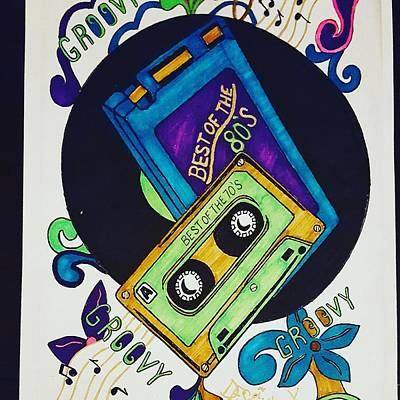 Animation Drawing - Best Of The 70s And 80s  by Yulanda Arnold-Kasper