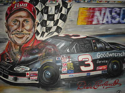Dale Earnhardt Painting - Best Of The Best by Donald Dunham