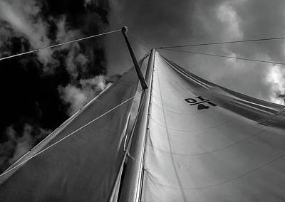 Photograph - Best Perspective Black And White by Richard Goldman