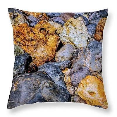 Photograph - Best Rock Throw Pillows by Lexa Harpell