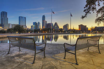 Science Collection - Best View in Austin, Texas 1 by Rob Greebon