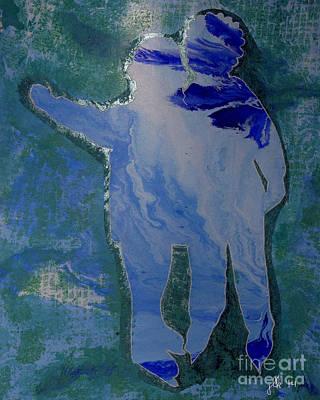 Painting - Besties - Ice Skating by Lori Kingston