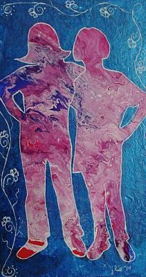 Painting - Besties by Lori Kingston