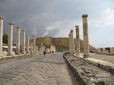 Photograph - Bet Shean Main Road by Donna L Munro