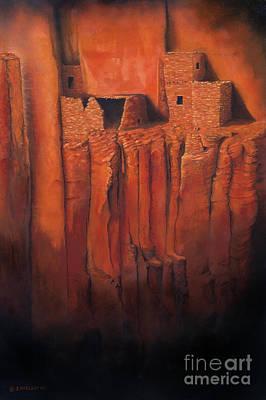 Betatakin Ruins Art Print by Jerry McElroy