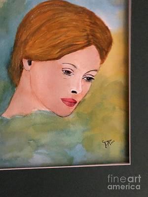 Painting - Beth by Donald Paczynski