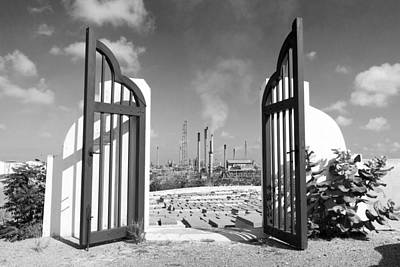 Photograph - Beth Haim Cemetery Curacao by For Ninety One Days