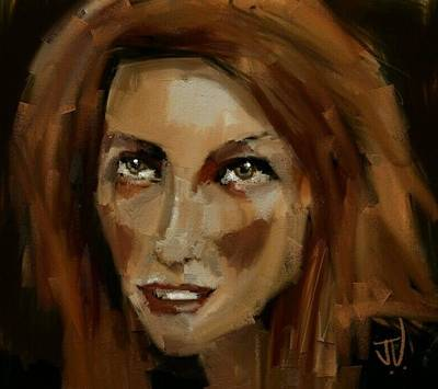 Digital Art - Beth by Jim Vance