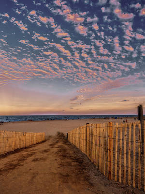 Photograph - Bethany Beach At Twilight by David Kay