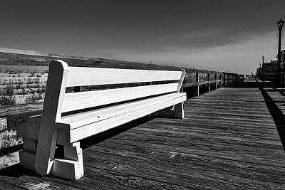 Photograph - Bethany Beach Boardwalk by Stuart Litoff