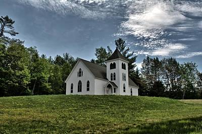 Photograph - Bethany Congregational Church Pike Nh by Naturally NH