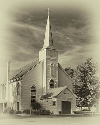 Photograph - Bethel Umc Church by Harold Rau