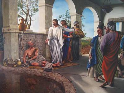 Bethesda - House Of Mercy Original by Ryan L  Jones
