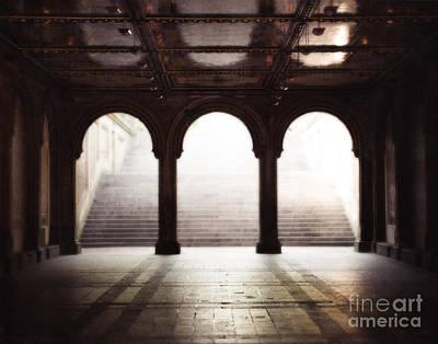 Bethesda Arches  Art Print by Sonja Quintero