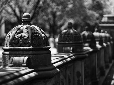 Photograph - Bethesda Terrace Ornaments by Cornelis Verwaal