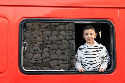 Bath Time Rights Managed Images - Bethlehem - A child from Bethlehem Royalty-Free Image by Munir Alawi