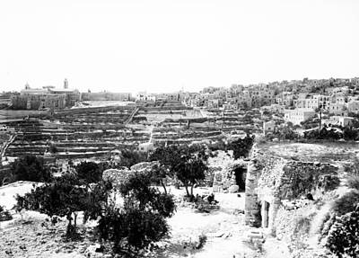 Photograph - Bethlehem 1914 by Munir Alawi