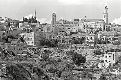 Photograph - Bethlehem 1969 by Munir Alawi