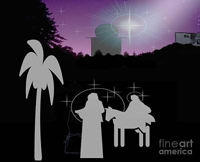 Painting - Bethlehem by Belinda Threeths