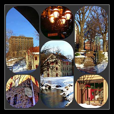 Photograph - Bethlehem Center City Composite by Jacqueline M Lewis