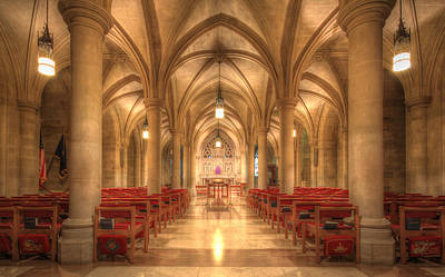 Photograph - Bethlehem Chapel Washington National Cathedral by Shelley Neff
