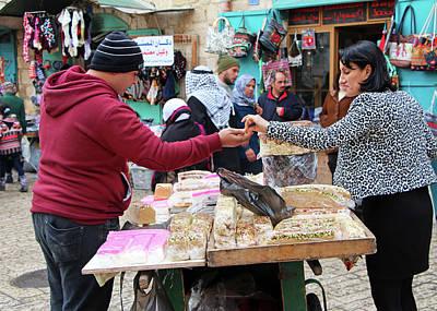 Photograph - Bethlehem Christmas Sweets by Munir Alawi