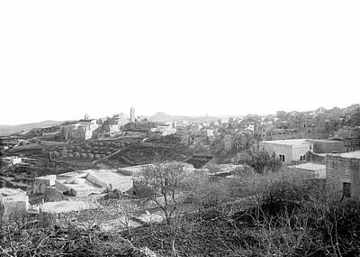Photograph - Bethlehem Fields 1898 by Munir Alawi