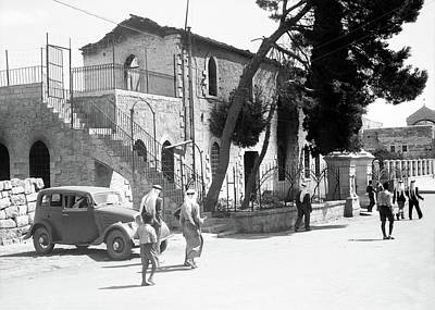 Photograph - Bethlehem Government Offices In 1938 by Munir Alawi