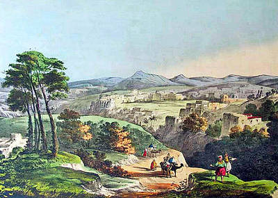 Photograph - Bethlehem In 1800s by Munir Alawi