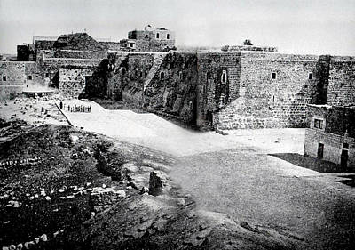 Photograph - Bethlehem In 1875 by Munir Alawi