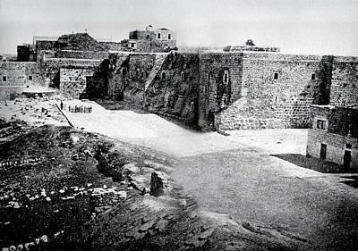 Photograph - Bethlehem In 1875 by Munir Alawi