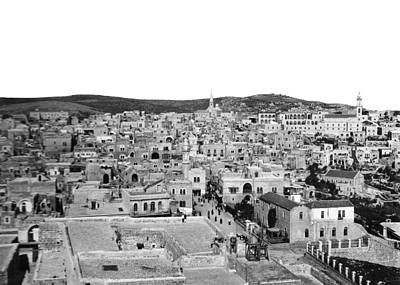 Photograph - Bethlehem In 1918 by Munir Alawi