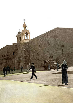 Photograph - Bethlehem In 1942 by Munir Alawi