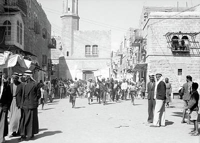 Photograph - Bethlehem In Sept 14th 1938 by Munir Alawi