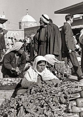 Photograph - Bethlehem Market by Munir Alawi
