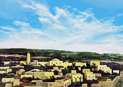Photograph - Bethlehem New Day by Munir Alawi