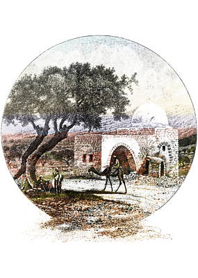 Painting - Bethlehem Rachel Tomb by Munir Alawi