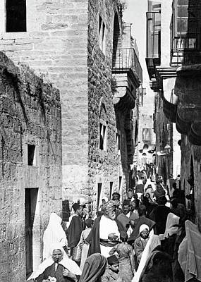 Photograph - Bethlehem Star Street 1919 by Munir Alawi
