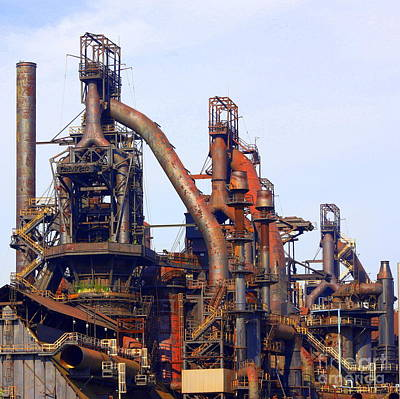 Photograph - Bethlehem Steel # 11 by Marcia Lee Jones