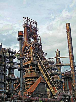 Photograph - Bethlehem Steel # 15 by Marcia Lee Jones